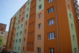 Revitalizace panelových domů v Chodově